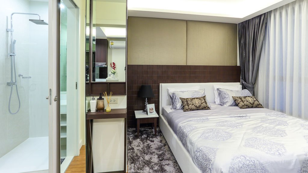 1 bedroom / 1 bathroom Apartment in Surin is for sale, or re-sale.