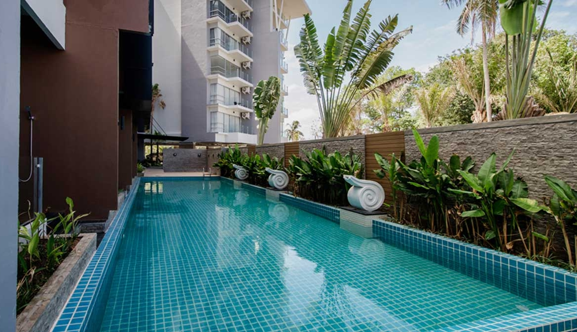 This 2 bedroom / 2 bathroom Apartment for sale is located in Karon on Phuket