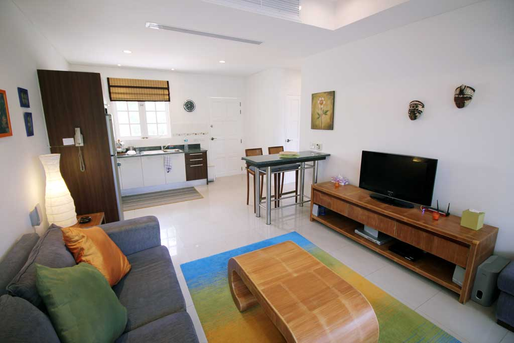 This 1 bedroom / 1 bathroom Apartment for sale is located in Cherng Talay on Phuket