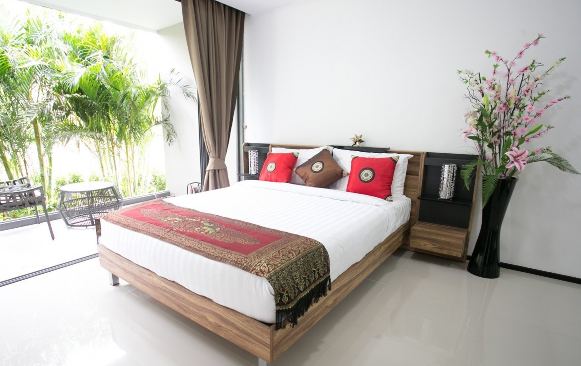 This 1 bedroom / 1 bathroom Apartment for sale is located in Mai Khao on Phuket