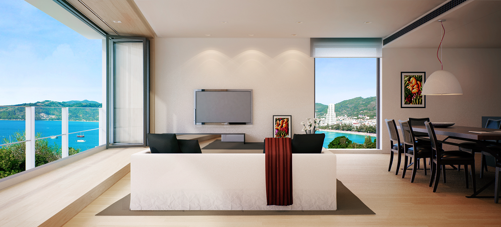 This 3 bedroom / 2 bathroom Apartment for sale is located in Patong on Phuket
