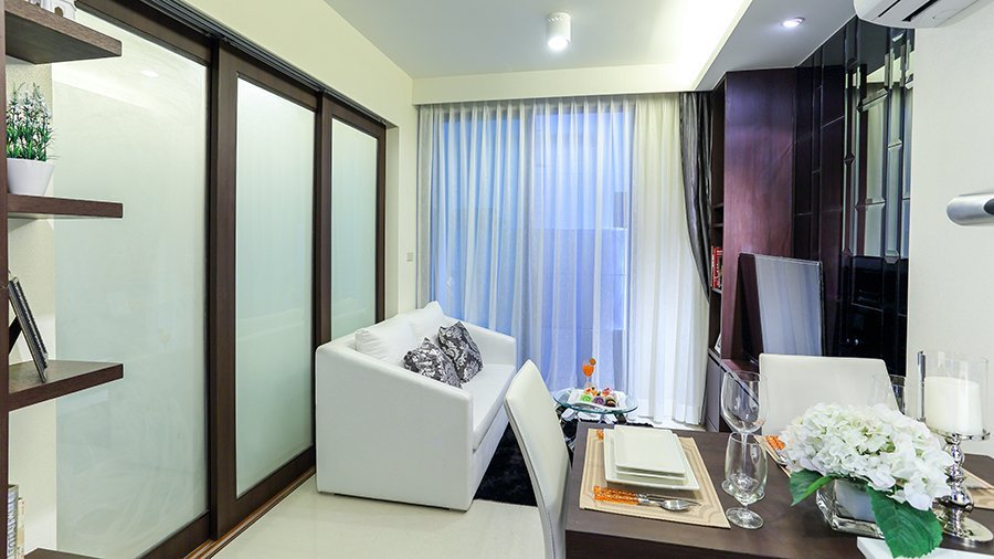 1 bedroom / 1 bathroom Apartment in Surin is on the market for sale, or re-sale.