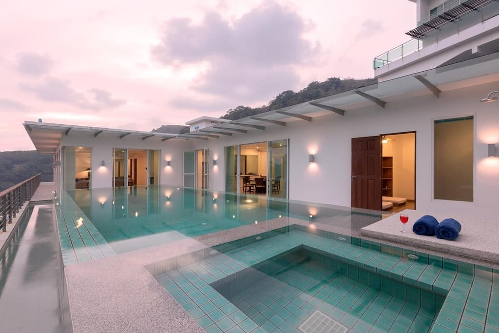 This 4 bedroom / 4 bathroom Apartment for sale is located in Kamala on Phuket