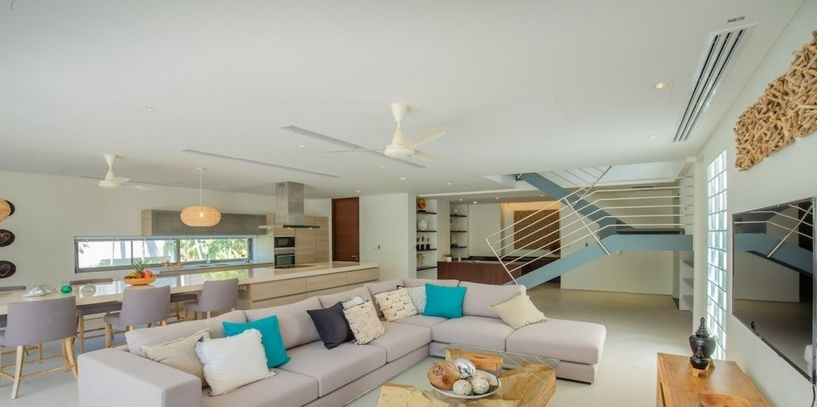 This 3 bedroom / 4 bathroom Apartment for sale is located in Cape Yamu on Phuket