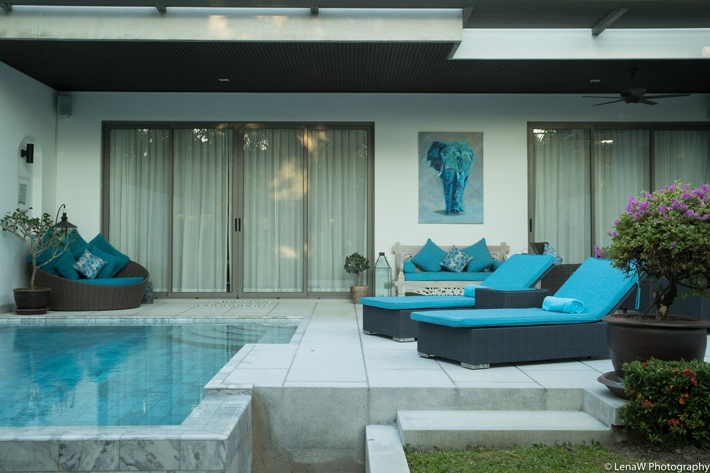 This 2 bedroom / 2 bathroom Apartment for sale is located in Bangtao on Phuket