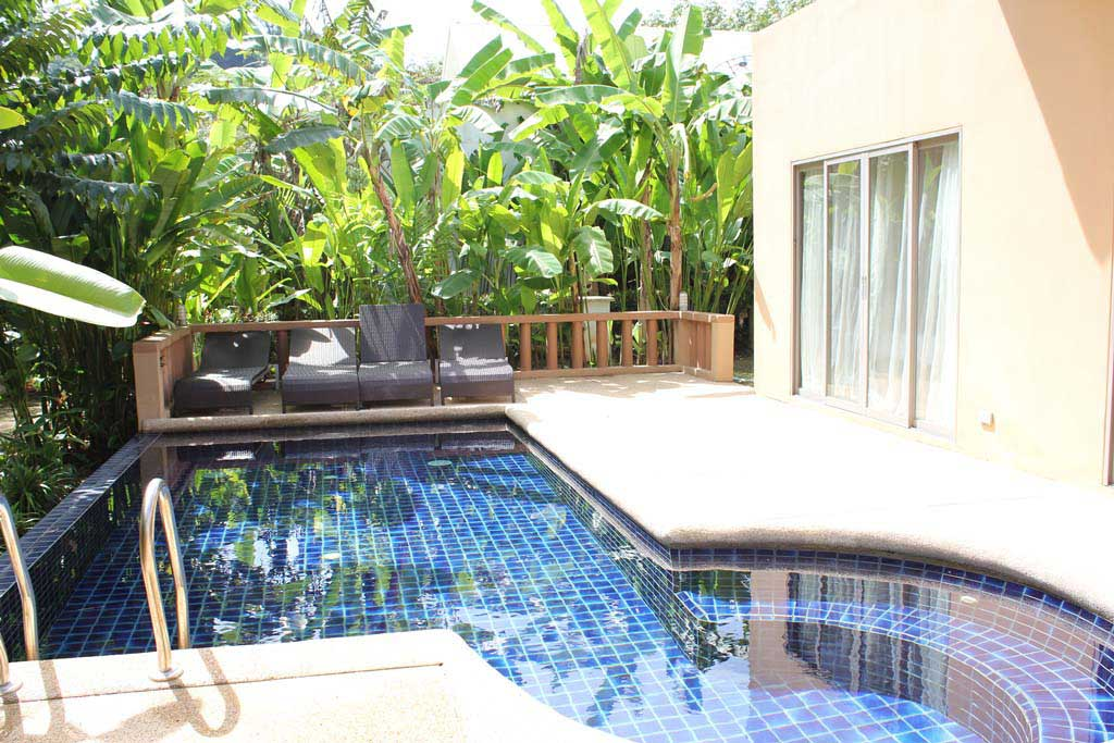 This 3 bedroom / 3 bathroom Villa for sale is located in Naithon on Phuket