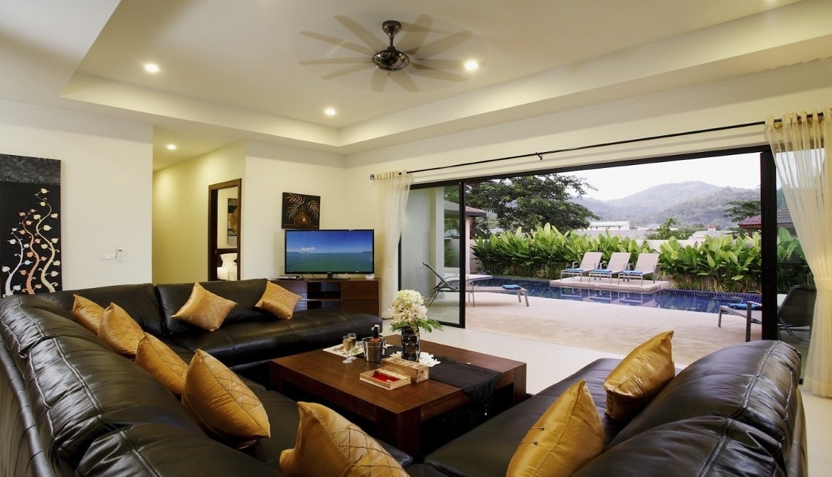 4 bedroom / 3 bathroom Villa in Nai Harn is available for sale, or re-sale.