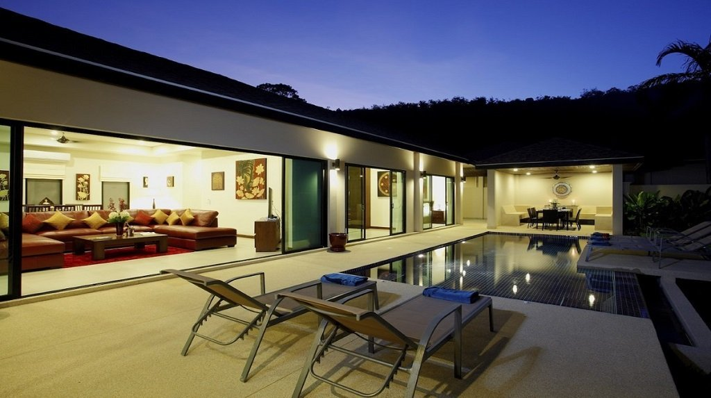3 bedroom / 2 bathroom Villa in Nai Harn is for sale, or re-sale.