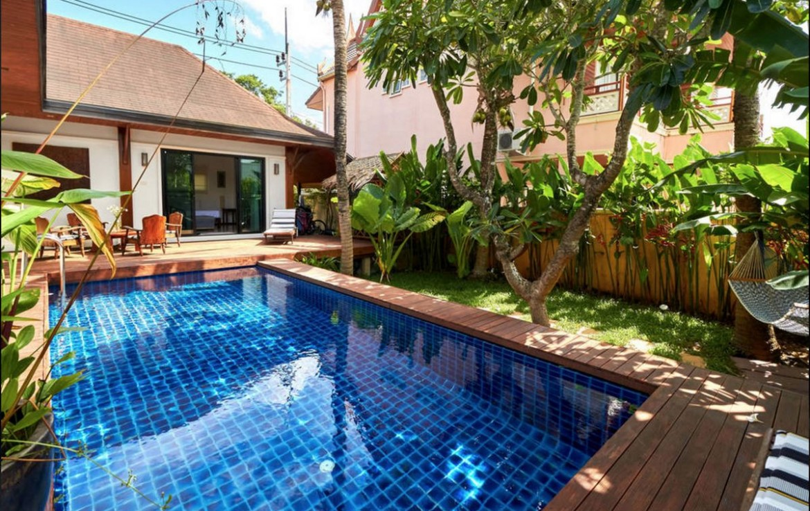 2 bedroom / 2 bathroom Villa in Nai Harn is for sale, or re-sale.