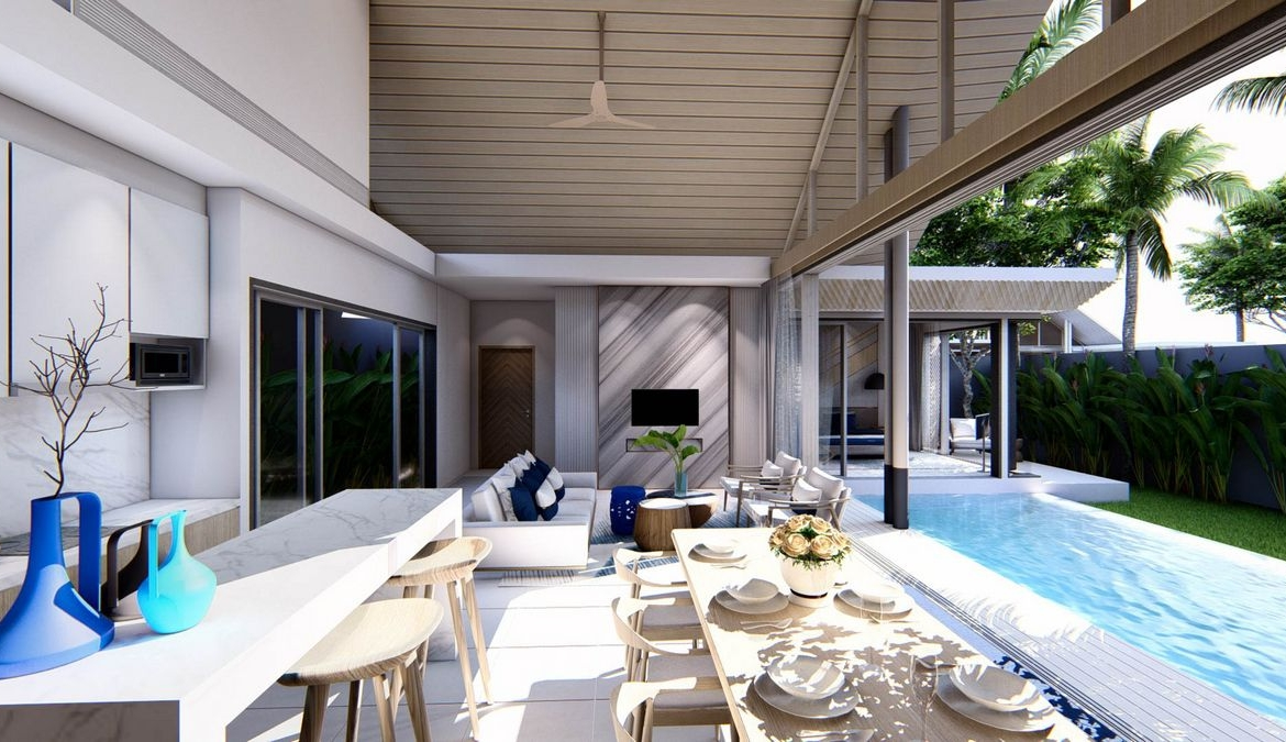 2 bedroom / 2 bathroom Villa in Thalang is available for sale, or re-sale.