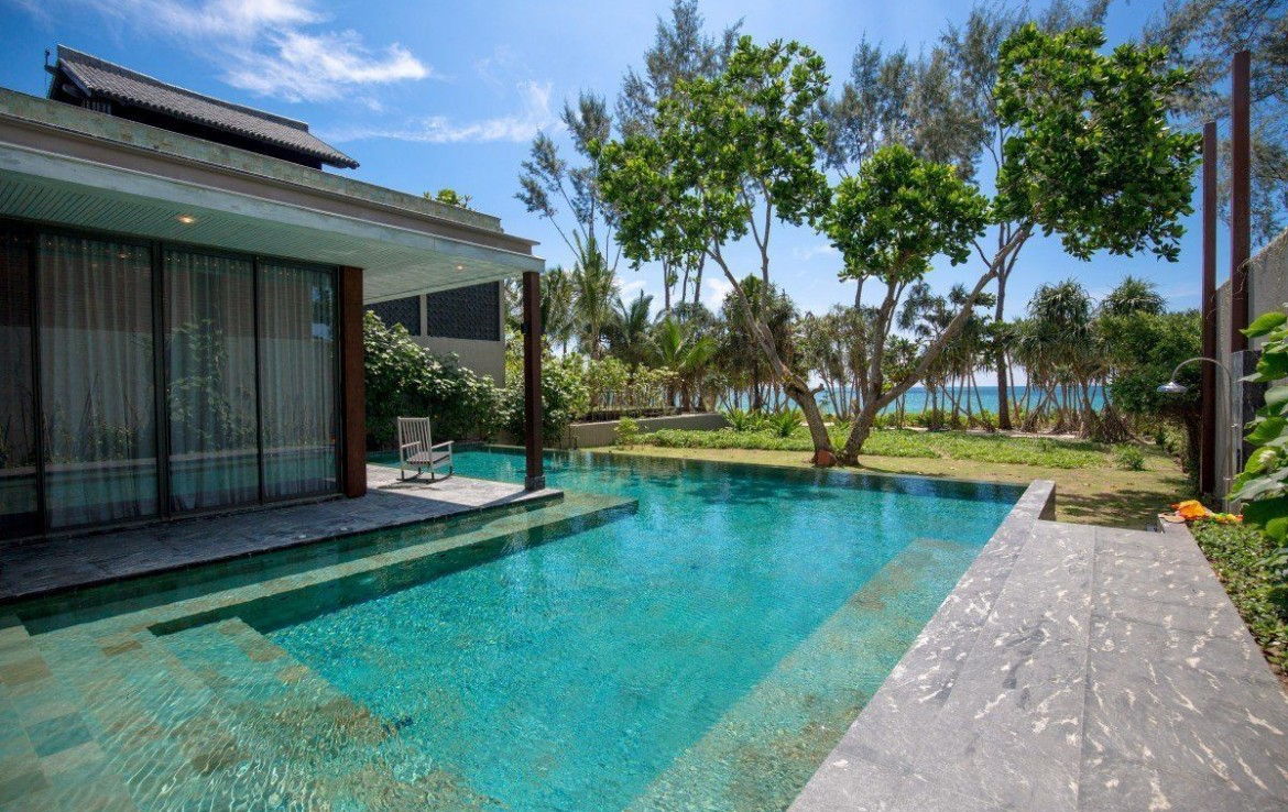 This 5 bedroom / 5 bathroom Villa for sale is located in Natai on Phuket