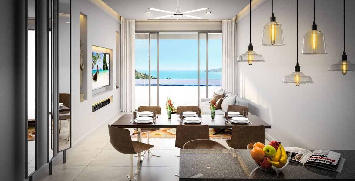 This 2 bedroom / 1 bathroom Apartment for sale is located in Surin on Phuket